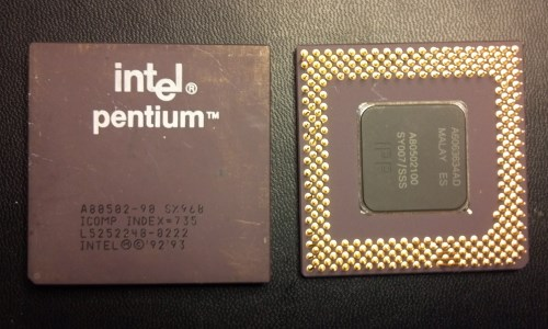 Ceramic CPUs No Gold Plate